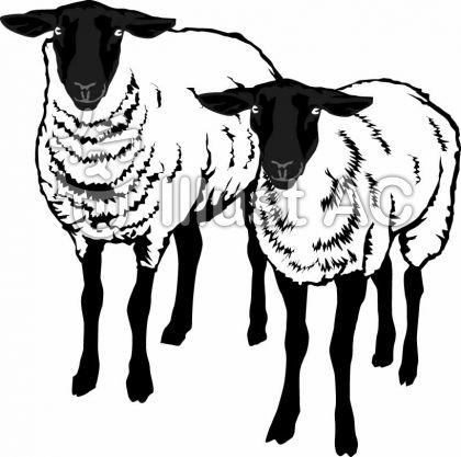 羊イラスト無料イラストならイラストac