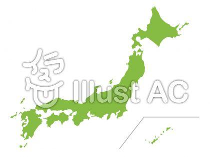 日本地図イラスト無料イラストならイラストac