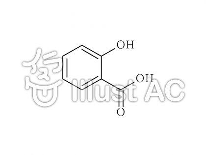 サリチル酸 salicylic acidのイラスト