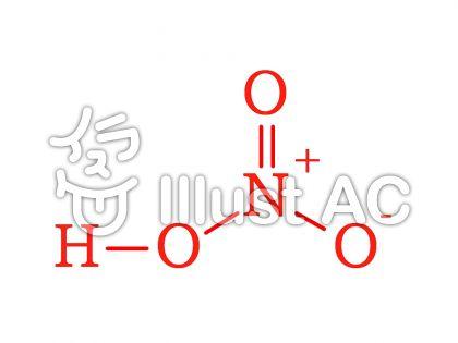 硝酸(nitric acid)のイラスト