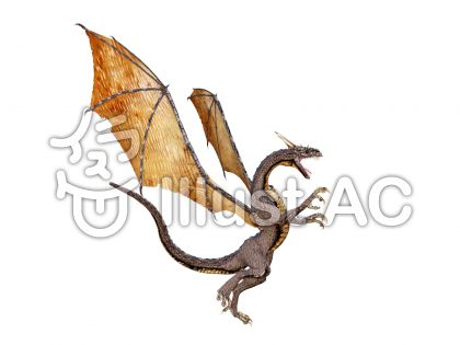 ドラゴンの咆哮のイラスト