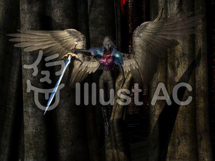 暗黒の妖精女王のイラスト