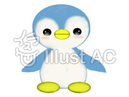 ペンギン②のイラスト