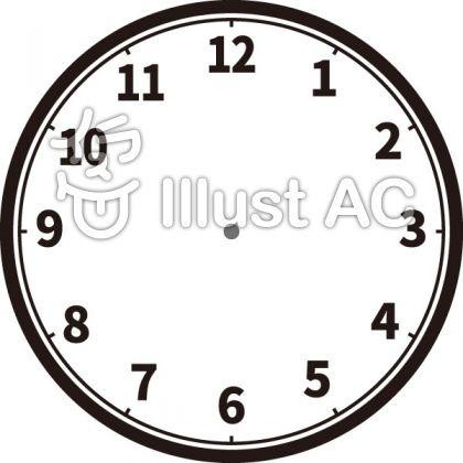 時計(土台・針なし)