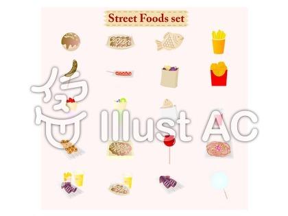 屋台の食べ物