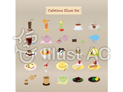 cafeのイラスト