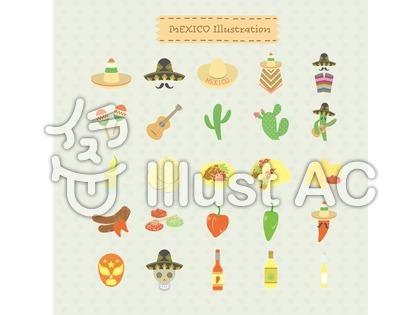 メキシコのイラスト