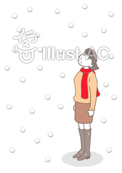 厳冬 ・大雪のイラスト