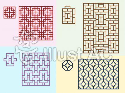 組格子パターン1