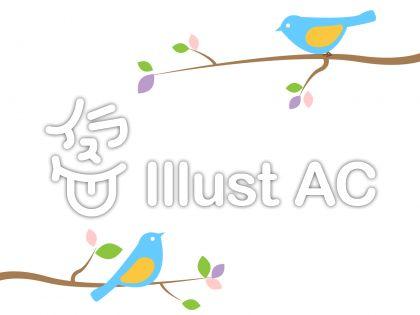 小鳥のイラスト