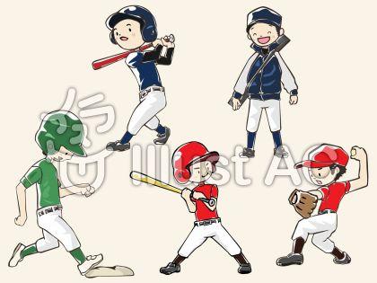 男の子・野球