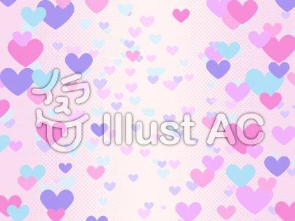 ハートグラデーション・ピンク