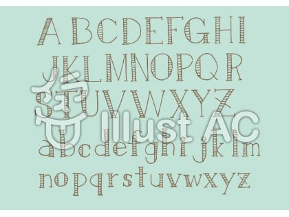アルファベット3・チョコ