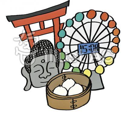 鎌倉 イラスト