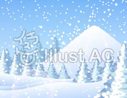 雪山イラスト無料イラストならイラストac