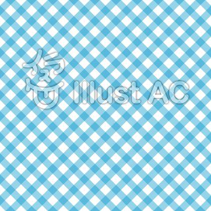チェックパターン1・ブルー