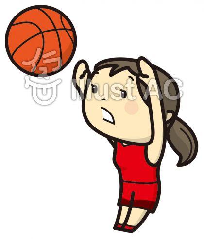 バスケットボールイラスト無料イラストならイラストac
