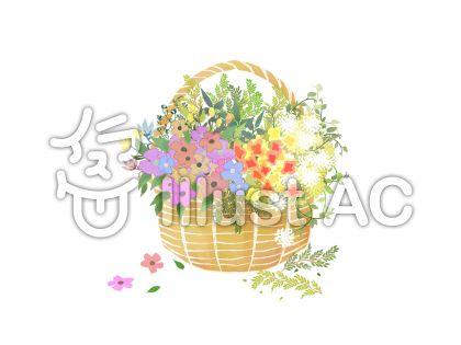 花かごイラスト無料イラストならイラストac