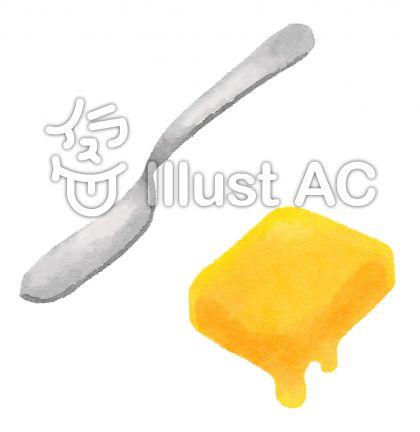 バターとバターナイフ